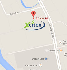 Xcitex Map